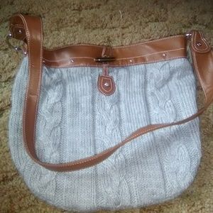 Old Navy sweater purse